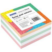 Блок для записей OfficeSpace - Липкий слой - 80*80*40 мм - 4 цвета