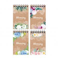 Блокнот ArtSpace Цветы. Craft flowers - На спирали - А7 - 40 листов