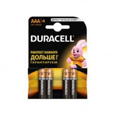 Батарейка Duracell - ААА - 1,5 V - R03 - 1 шт