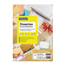 Наклейки бумажные OfficeSpace - А4 - Неделенные - 100 листов