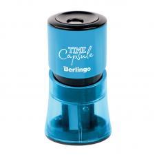 Точилка пластиковая Berlingo TimeCapsule - 2 отверстия - Контейнер