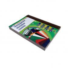 Обложка для перфопереплета Leather Grain - А4 - Черная - 250 г - 100 листов