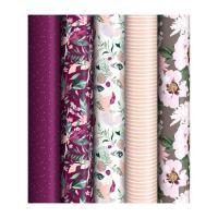 Бумага декоративная упаковочная ArtSpace Purple mood - 70*100 см
