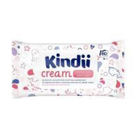Салфетки влажные Kindii cream - 60 шт - Без клапана