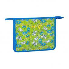 Папка для тетрадей ArtSpace Бабочки - 1 отделение - А5 - Пластик - На молнии