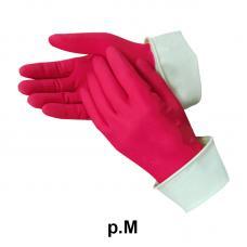 Перчатки хозяйственные латексные - М размер