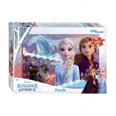 Пазл Step Puzzle Disney. Холодное сердце2 - 104 элемента