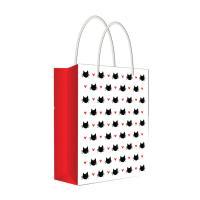 Пакет подарочный Забавные мордочки - 18*22,7 см