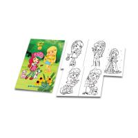 Тетрадь для раскрашивания - А4 - 16 листов
