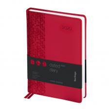 Ежедневник датированный Berlingo Vivella Prestige - А5 - 184 листа - Красный