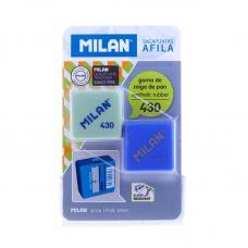 Набор Milan Afila точилка с ластиком