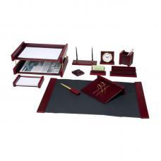 Набор настольный деревянный Bestar Platon - 11 предметов - Красное дерево