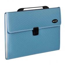Портфель - папка Berlingo Standard - А4 - 13 отделений - Синяя