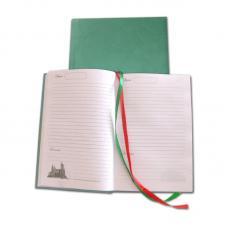 Ежедневник недатированный - А5 - 160 л - Зеленый