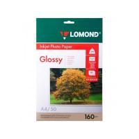 Фотобумага Lomond - А4 - 160 г/ кв. м - Глянцевая - 50 листов