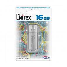 USB-флеш-накопитель Mirex Unit Silver - 16Gb