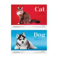Альбом для рисования ArtSpace Cat.Dog - А4 - 16 листов