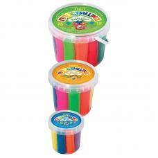 Тесто для лепки Пластишка - 7 цветов - 30 грам - Пластиковый стакан