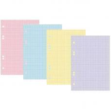 Сменный блок Hatber  - Тонированный - 200 листов -  А5 - 4 цвета