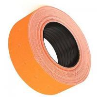 Этикет-лента - 21,5*12 мм - Оранжевая