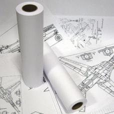 Рулон для инженерных машин - А2 - 420 мм * 76 мм * 175 м