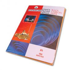 Бумага копировальная - А4 - Черная - 100 листов