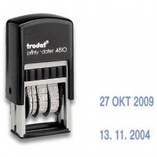 Мини-датер Trodat - 3,8 мм - Месяц цифрами