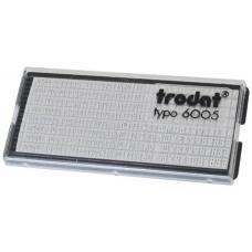 Сменная касса для штампа Trodat 6005 - 3 мм, 4 мм