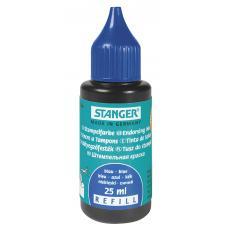 Краска штемпельная Stanger - 25 мл - Синяя