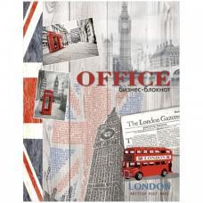 Бизнес-блокнот Модный Лондон - А5 - 80 листов