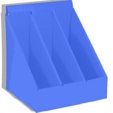 Короб архивный - Картон - 3 секции