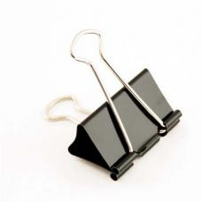 Зажим для бумаг - 51 мм - Черный