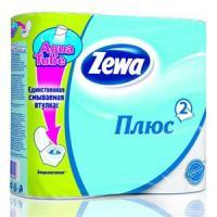 Туалетная бумага Zewa Плюс - 4 рулона
