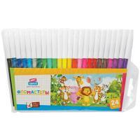 Фломастеры ArtSpace Веселые зверята - 24 цвета