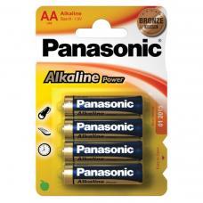 Батарейки алкалиновые Panasonic - LR6 - АА - 1,5В - 4 штуки