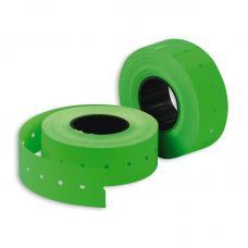 Этикет-лента - 21*12 мм - Зеленая