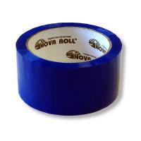 Скотч упаковочный - 45 мкм - 48 мм - 66 м - Синий