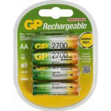 Батарейка аккумуляторная GP - АА - 1,2В - 2700 мАч