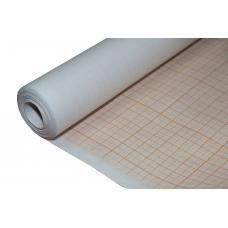 Миллиметровая бумага в рулоне - 640 мм - 10 м