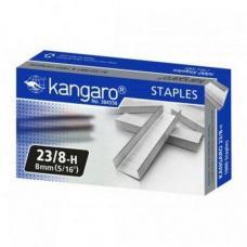 Скобы Kangaro №23/8 - Оцинкованные - 2000 штук