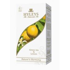 Чай Hyles с лимоном - Зеленый - 25 пакетиков