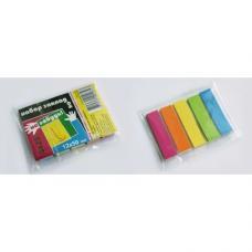 Закладки клейкие Гознак - 12*50 мм - 25 штук*5 цветов