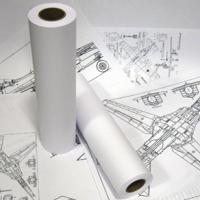 Рулон для инженерных машин - А3 - 297 мм * 76 мм * 175 м
