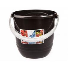 Ведро Practic - 12 литров - Коричневый