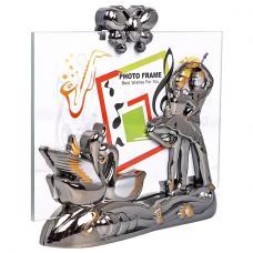 Фоторамка - Пластиковая - 10*15 см - Держатель фото в форме танцующей пары