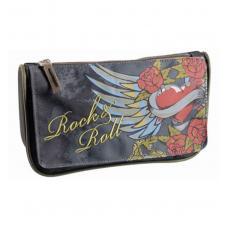 Пенал Erich Krause Rock'n'Roll - 1 отделение - На молнии