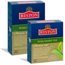 Чай Riston Pure Green Tea UK - Зеленый - 100 г