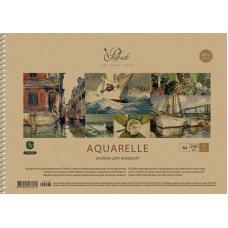 Альбом для акварели Школярик Prof-art - крафт-обложка А4 -20 листов - блок 240 г