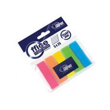 Закладки клейкие пластиковые Forpus - 12*44 мм - 5 цветов