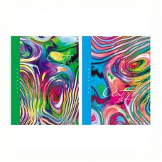 Бизнес-блокнот BG Art glass - А5 - 80 листов